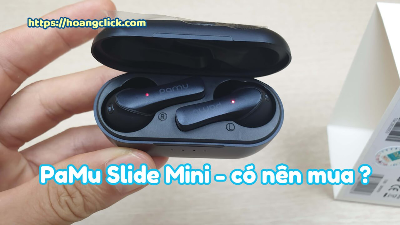 tai nghe bluetooth pamu slide mini