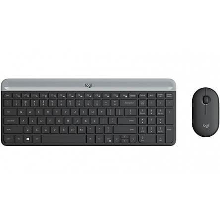 Bộ phím chuột không dây logitech MK470 Slim